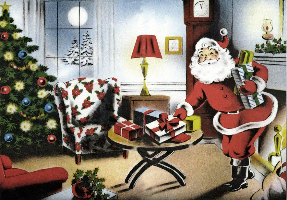 1940's Christmas On The Home Front • The 1940's • 1940-1949 • Fashion  History Movies Music - 1940's Christmas On The Home Front €� The 1940's €� 1940-1949
